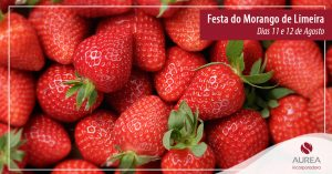 Hoje é dia de Festa do Morango em Limeira!