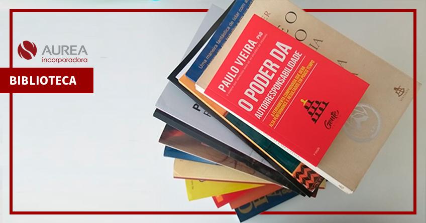 Aurea Incorporadora cria biblioteca para funcionários.