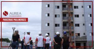 Aurea Incorporadora firma parceria com empresas paulinenses