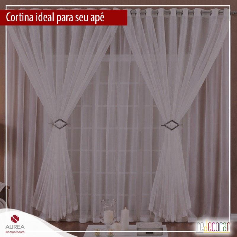 Qual a cortina ideal para o seu apartamento?
