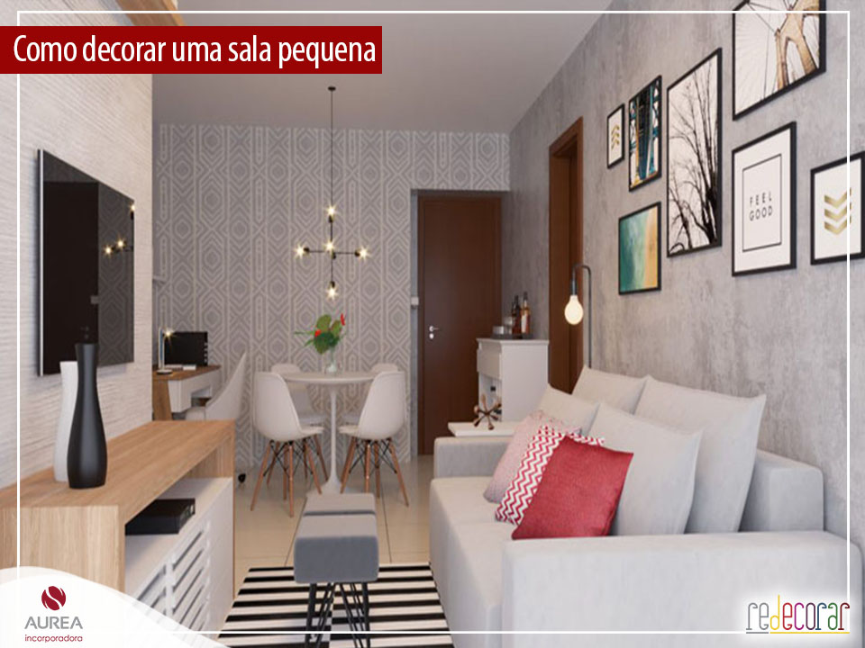 Como decorar uma sala pequena: 10 dicas para você colocar em prática